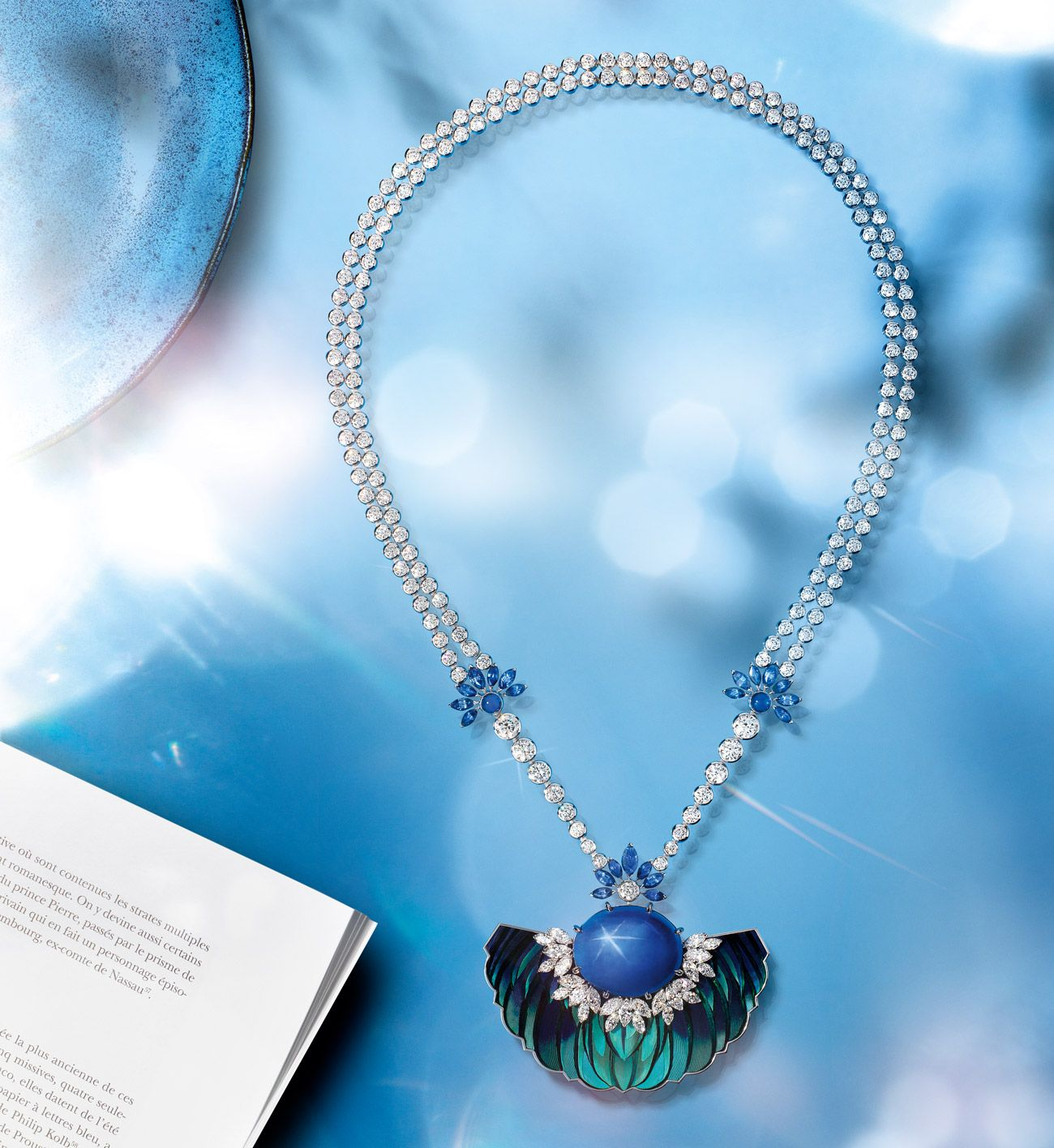 Celestial Blue Necklace